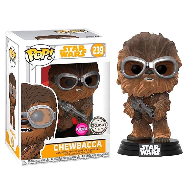 Star Wars Pop Chewbacca Bobble Head Vinyl Figure NEW EN STOCK Toys