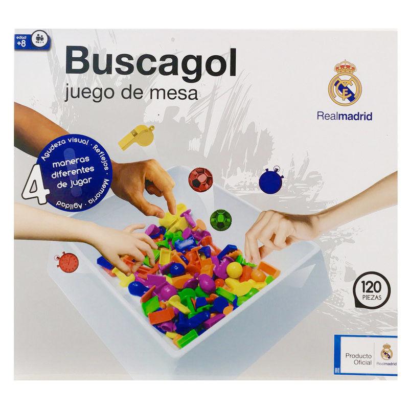 Juego Buscagol Real Madrid