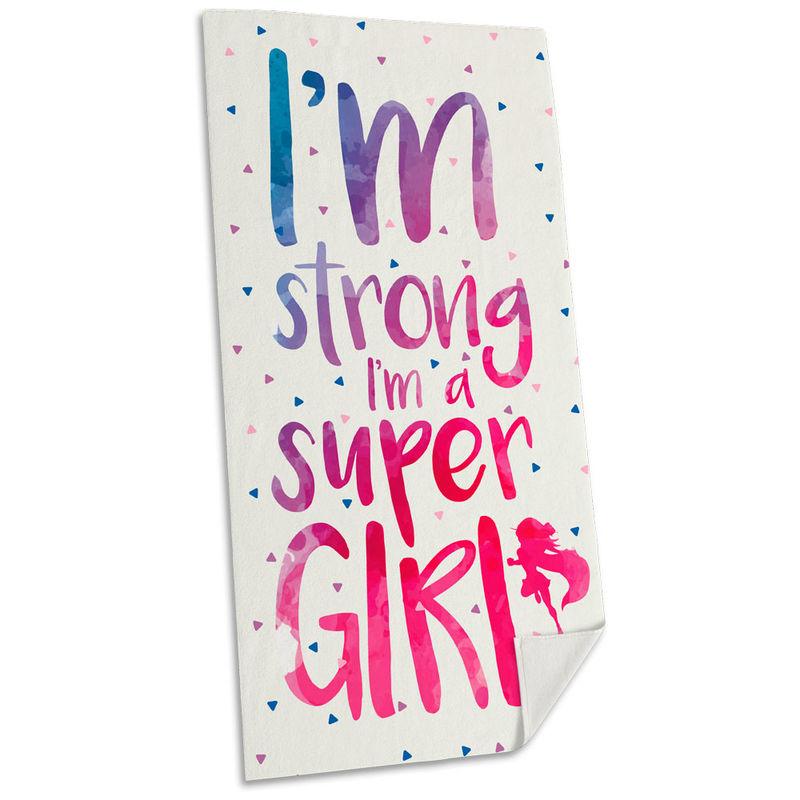 Toalla Im Super Girl 8435507815680