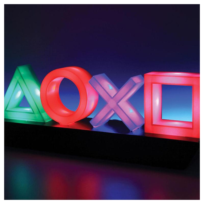Lampara decorativa iconos Playstation