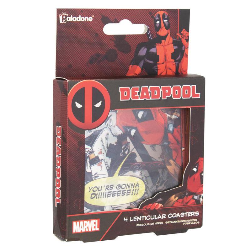 Posavasos 3D Deadpool Marvel