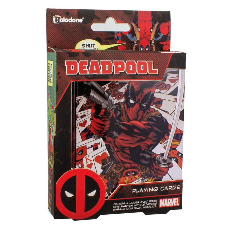 Baraja cartas Deadpool Marvel