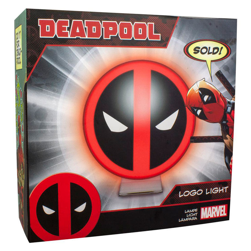 Lampara logo Deadpool Marvel
