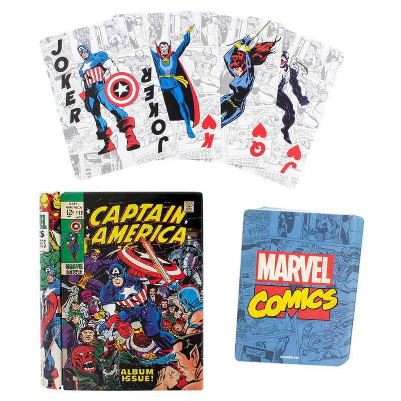 Baraja cartas Marvel 5055964723019