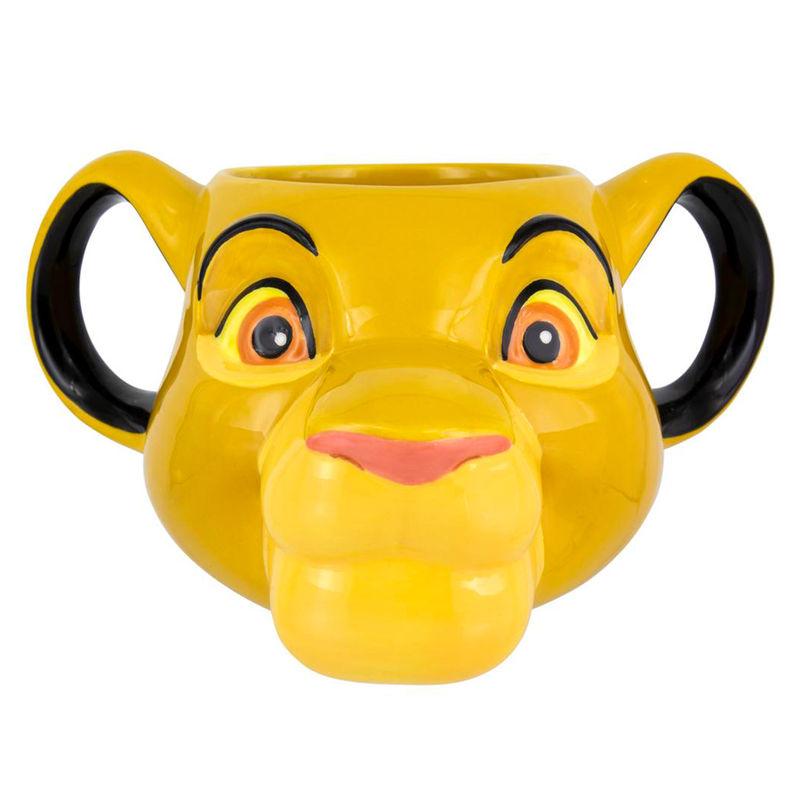 Taza 3D Disney El Rey León Simba 5055964725167