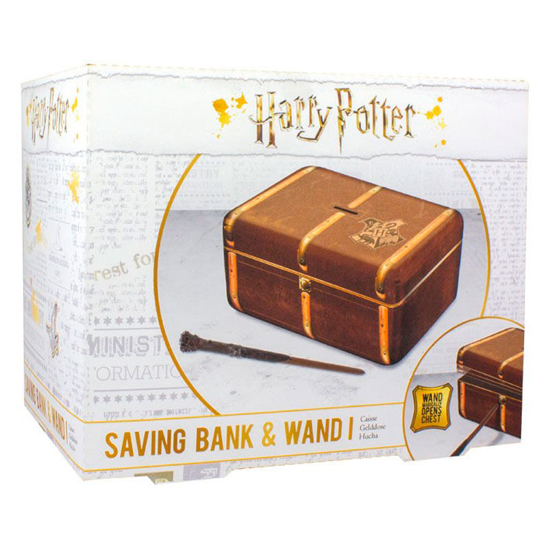 Hucha llave varita Harry Potter