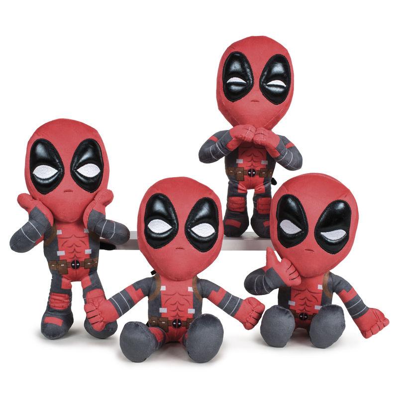 Peluche Deadpool Marvel 32cm surtido 8425611377907