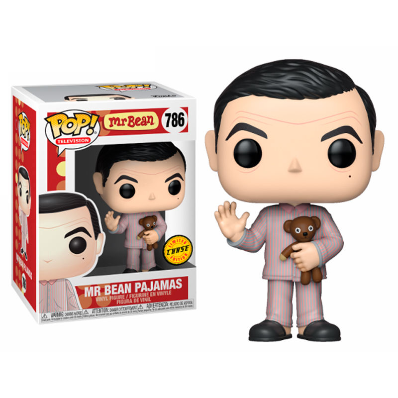 Funko Pop pyjama Television-Mr Bean-Mr Bean