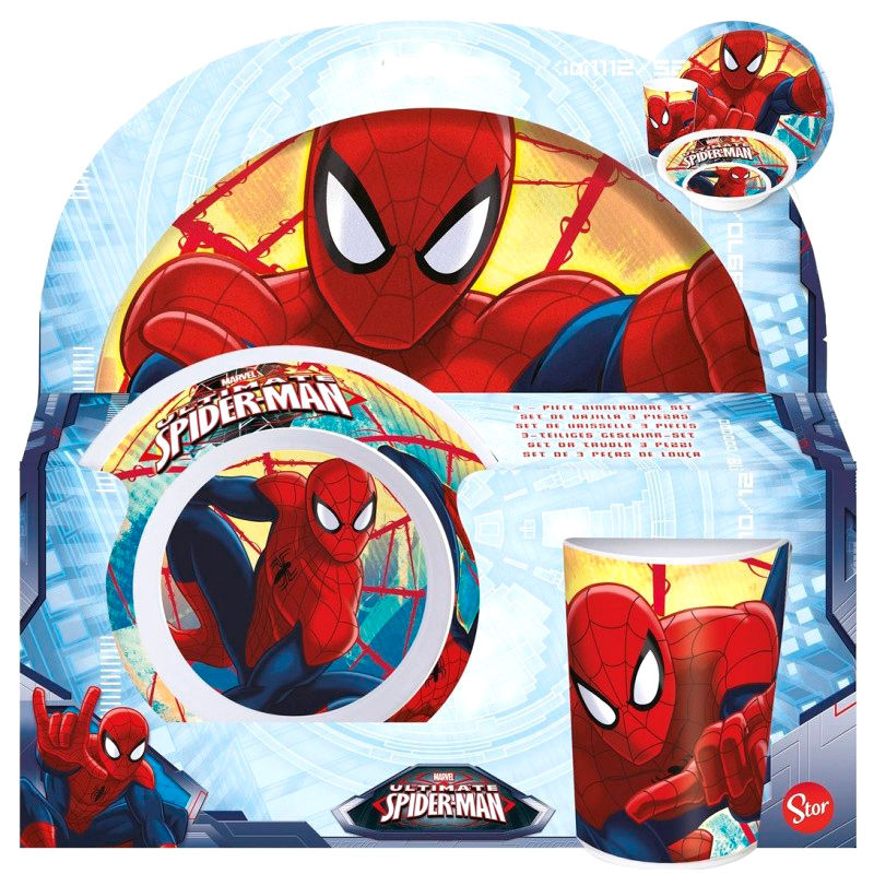 Set melamina Spiderman Marvel 8412497334902
