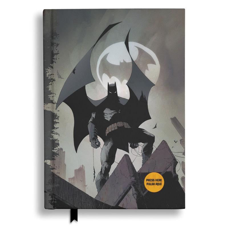 Diario luz Batman Batseñal DC Comics