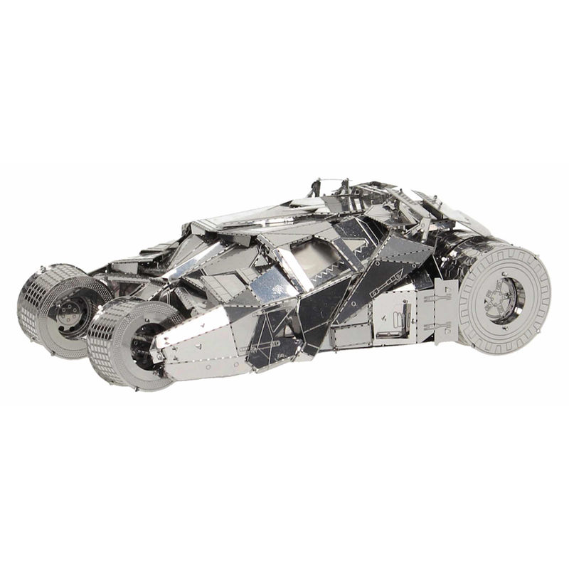 Kit vehiculo metal 3D Batman 2005 DC Comics