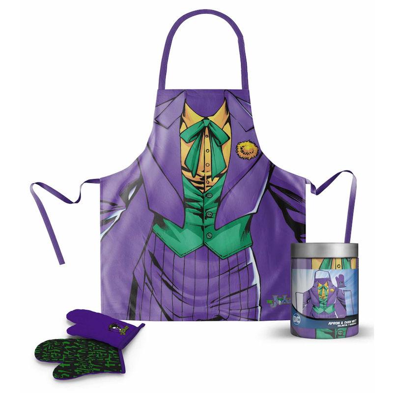 Delantal con guantes Joker DC Comics