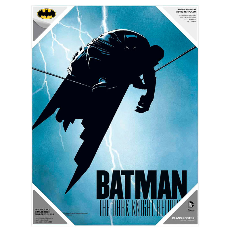 Poster cristal Batman The Dark Knight DC Comics