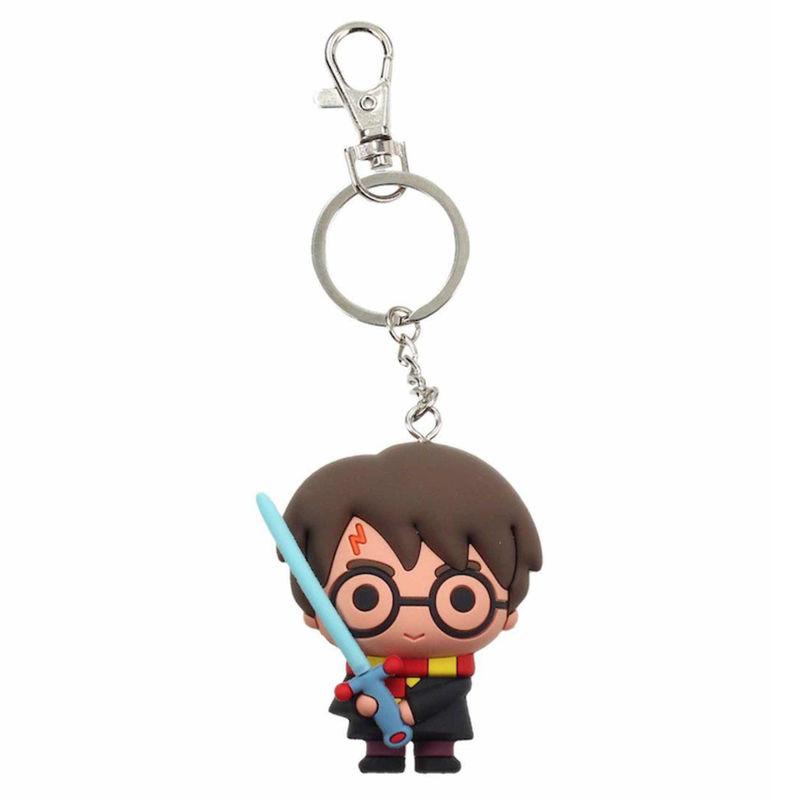 Llavero goma espada Harry Potter 8435450217869