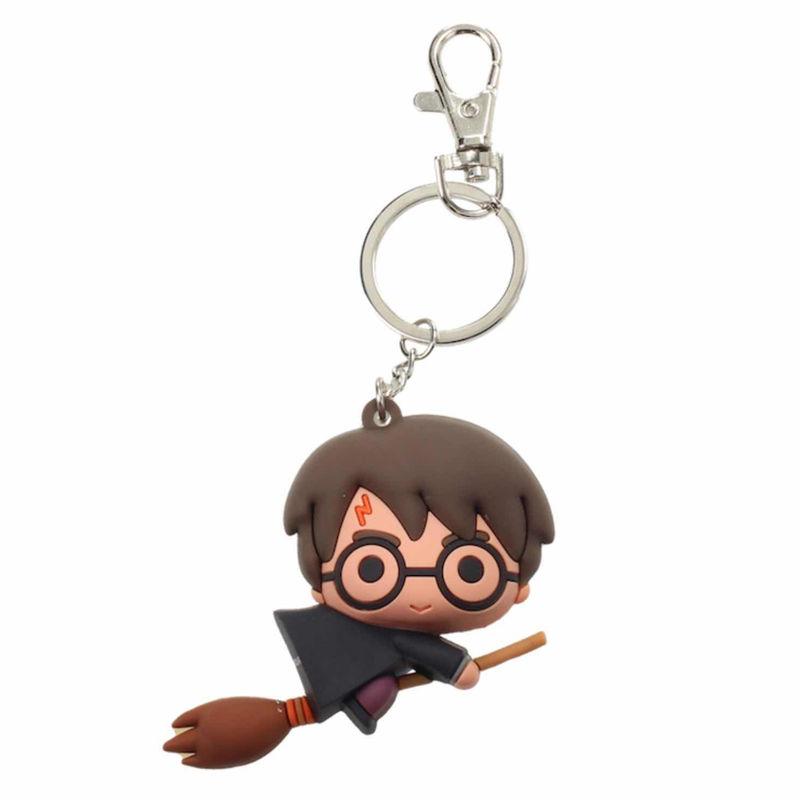 Llavero goma Nimbus Harry Potter 8435450218439