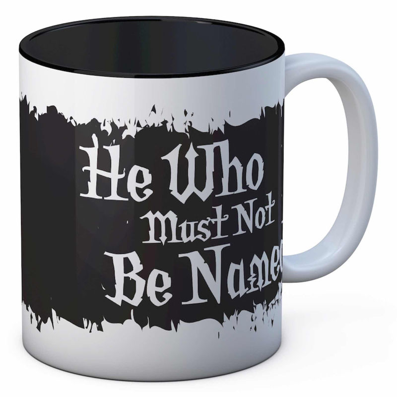 Taza He Who Must Be Named Harry Potter