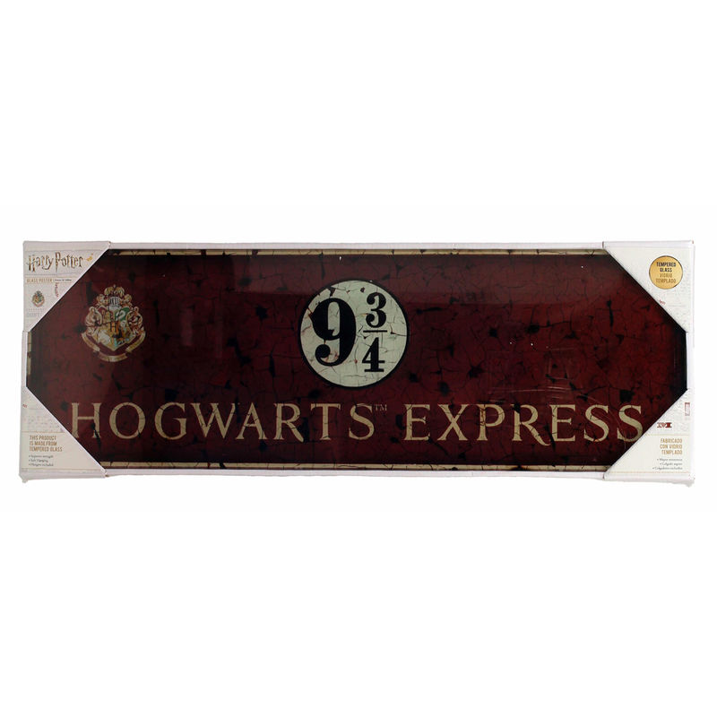 Poster cristal Hogwarts Express Harry Potter
