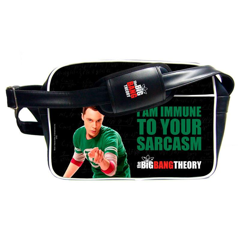 Bandolera I Am Immune Sheldon Cooper The Big Bang Theory