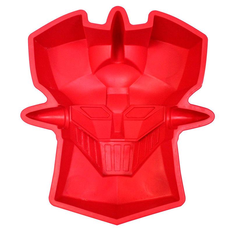Molde silicona cabeza Mazinger Z