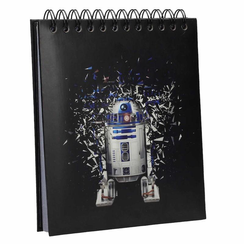 Libreta luz y sonido R2-D2 Star Wars