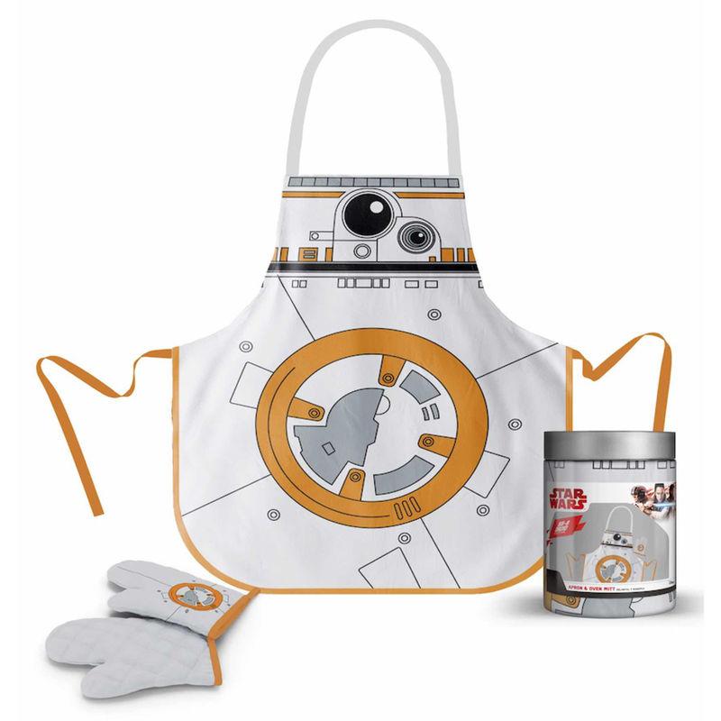 Delantal con guantes BB-8 Star Wars