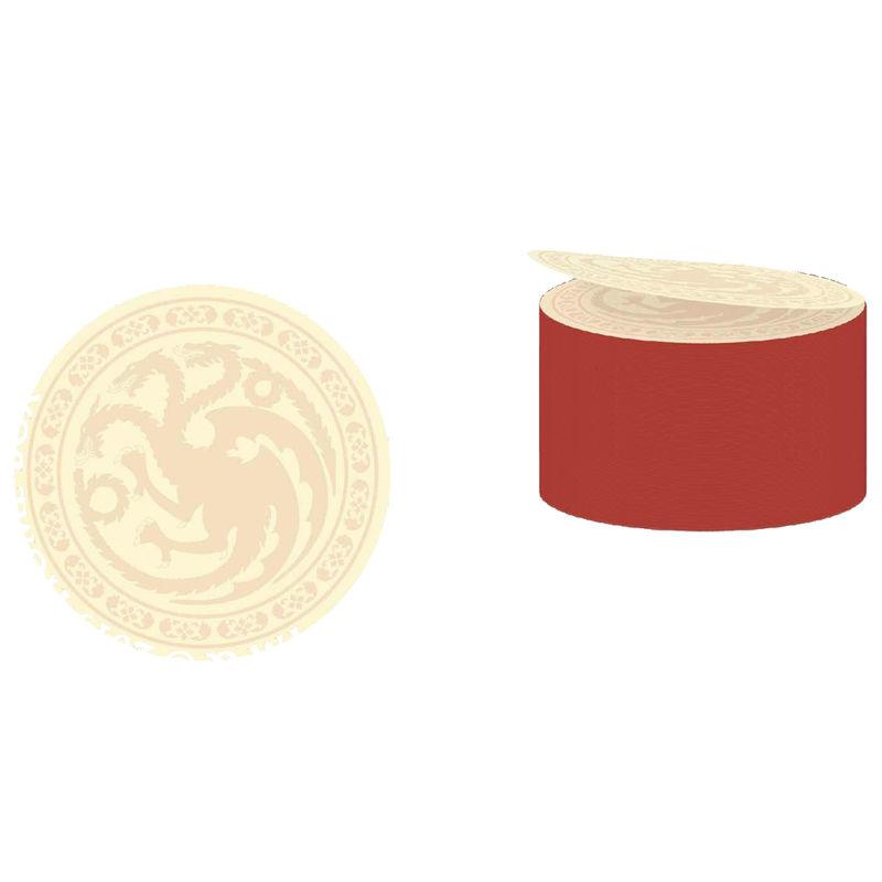 Postick logo Targaryen Juego de Tronos