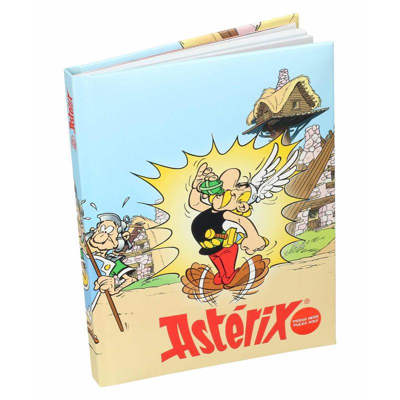 Diario luz Pocion Asterix