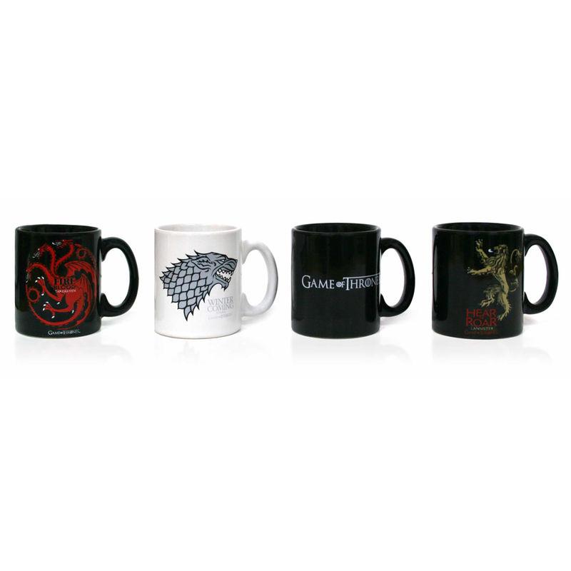 Set 4 tazas espresso Juego de Tronos
