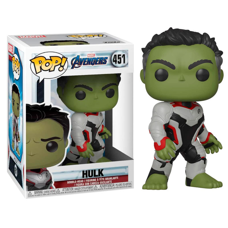 ENDGAME, END GAME, MARVEL, POP FUNKO, HULK