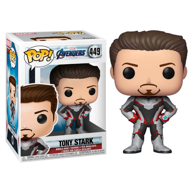 tony stark, marvel, avengers, vengadores, end game, endgame, ironman, iron man, pop funko, funko, pop vinyl, funko pop