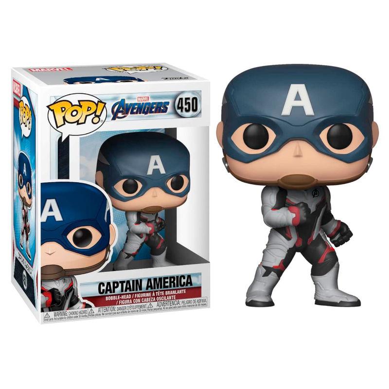 Funko POP o Figura POP Marvel Avengers Endgame Captain America