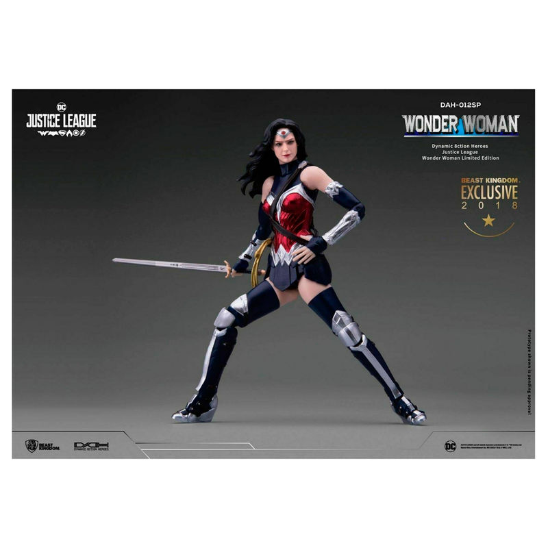 Figura Heroes Dinamicos Wonder Woman DC Comics