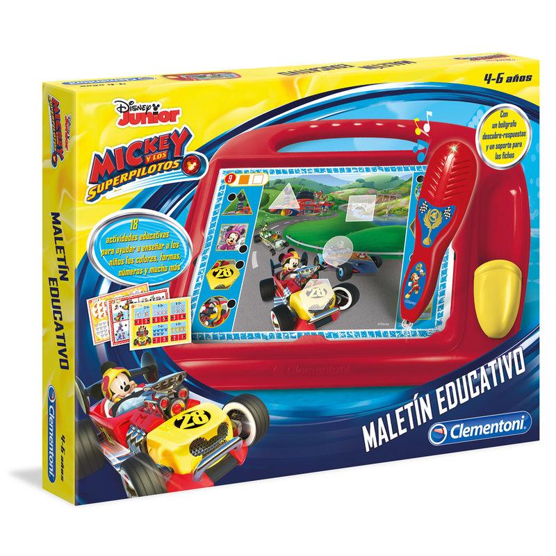 Maletin educativo Mickey Roadster Disney