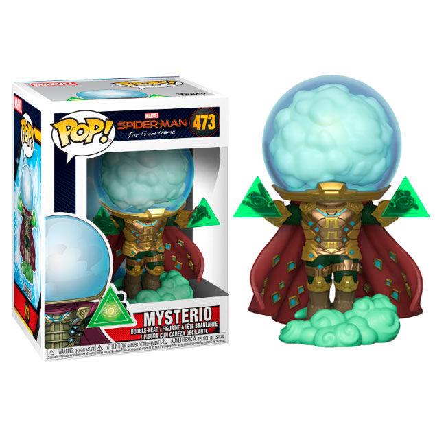 Funko POP o Figura POP Marvel Spiderman Far From Home Mysterio