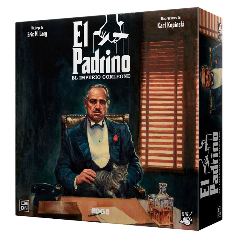 Juego mesa El Padrino El Imperio Corleone