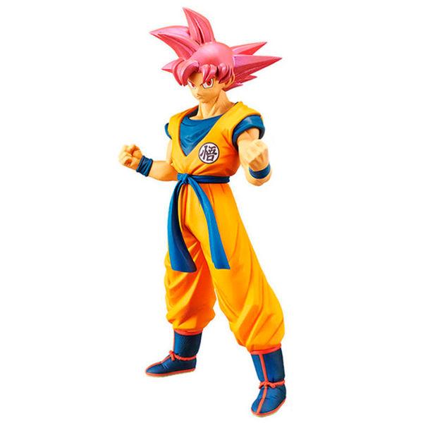 Figura Super Saiyan God Son Goku Cyokuku Buyuden Dragon Ball Super 22cm