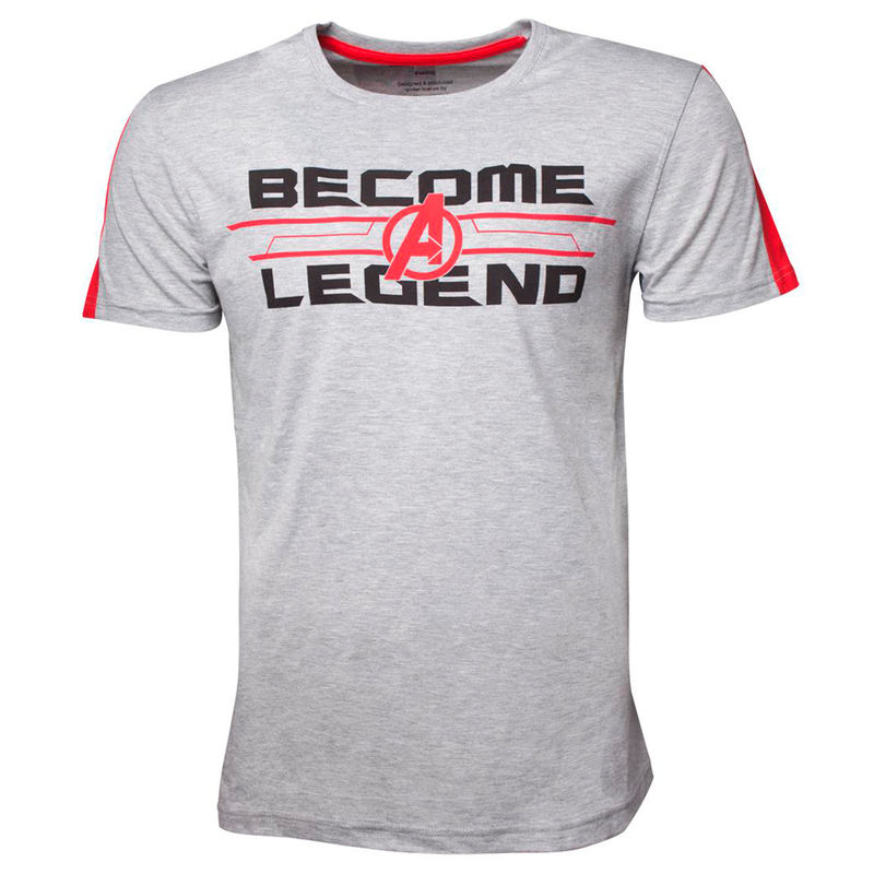 Camiseta Become A Legend Vengadores Marvel
