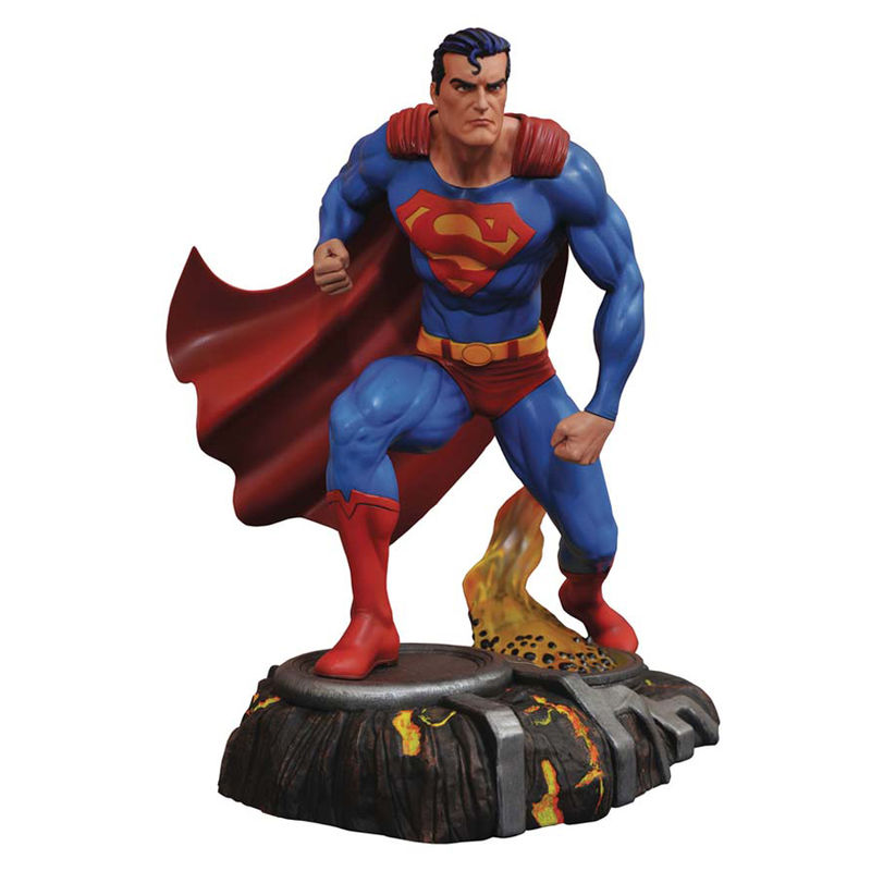 Figura Superman DC Comics Gallery diorama