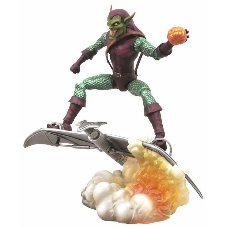 Figura Duende Verde Marvel diorama