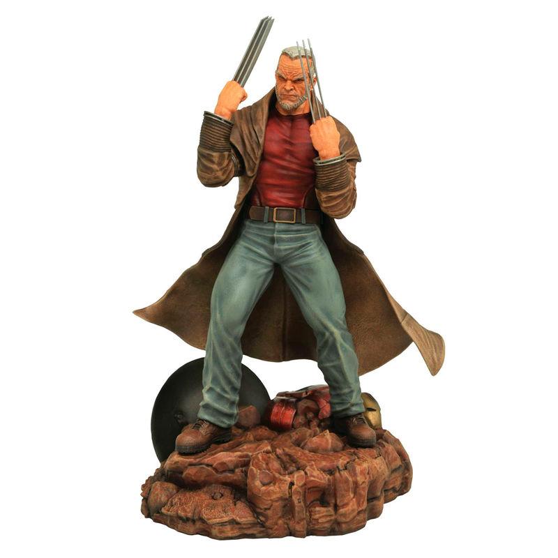 Figura Viejo Logan Marvel diorama 699788815250