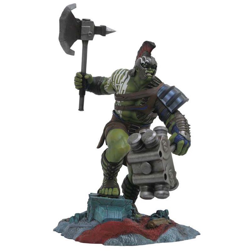 Estatua Hulk Gladiator Marvel Premier Collection By Diamond Select