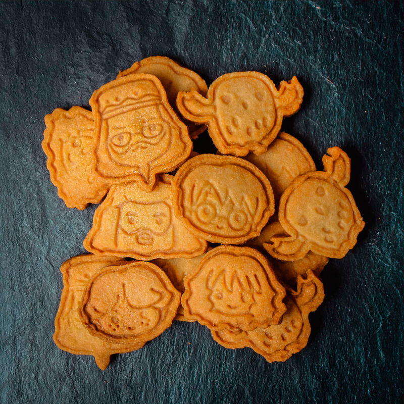 Pack 6 moldes galletas Harry Potter