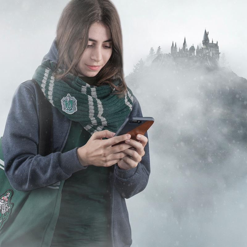 Bufanda infinita Slytherin Harry Potter