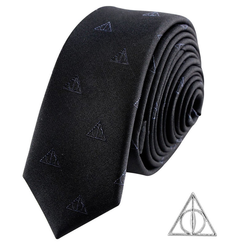 Corbata Deathly Hallows Harry Potter deluxe