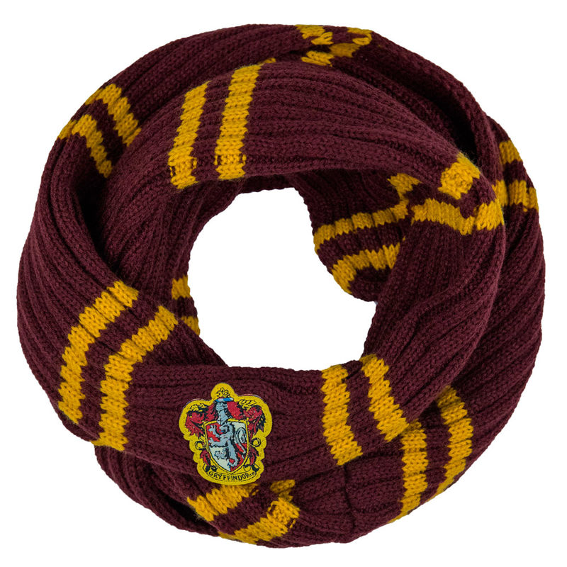 Bufanda infinita Gryffindor Harry Potter
