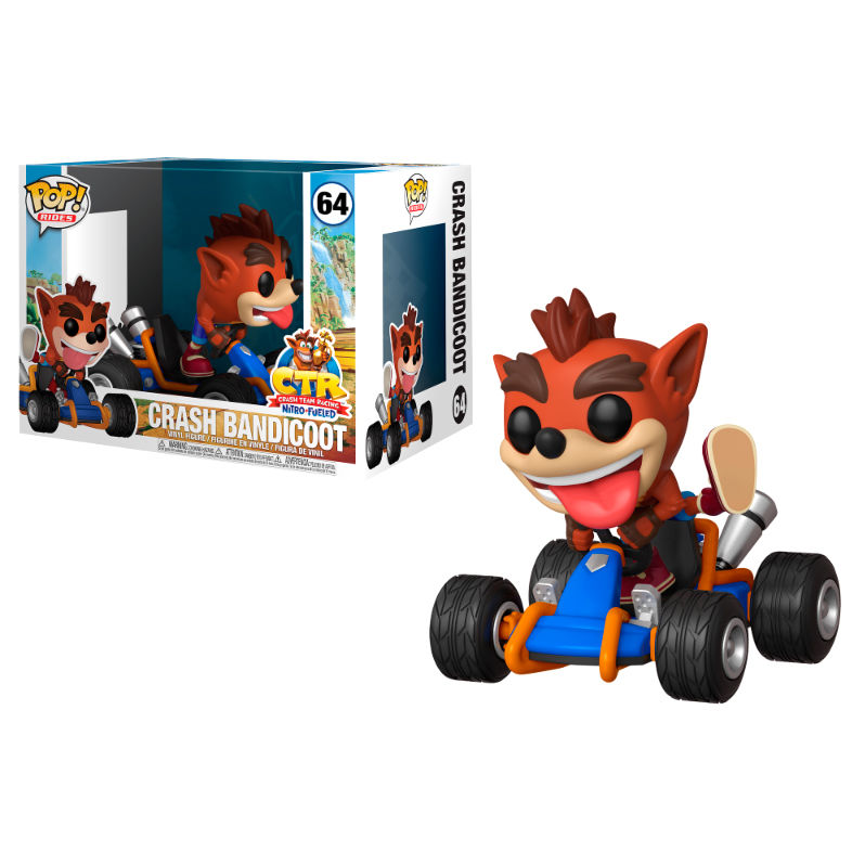 Figura POP Crash Team Racing Crash Bandicoot