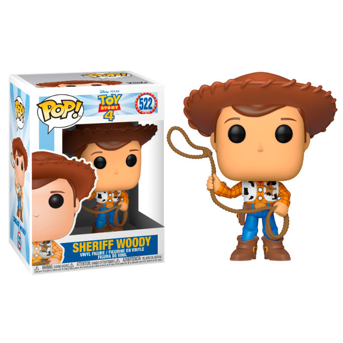 SHERIFF WOODY, DISNEY, TOY STORY, POP FUNKO