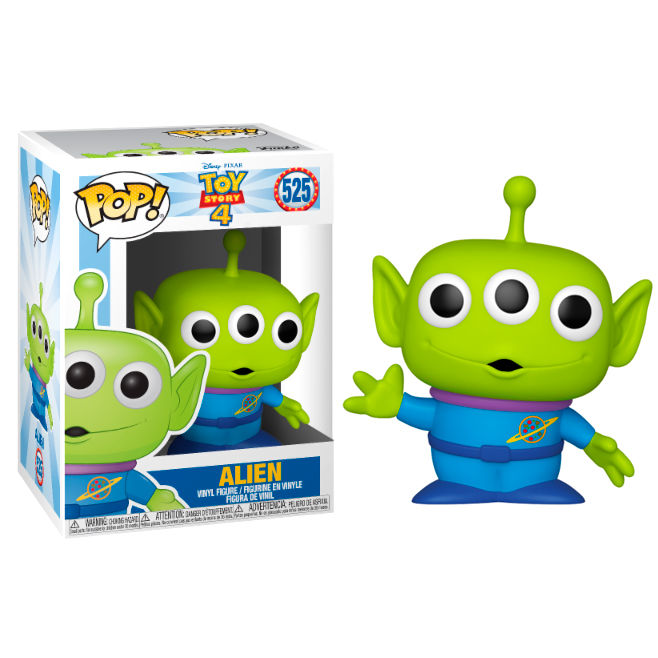 alien, allien, toy story, toy story 4, pop funko, disney, funko pop