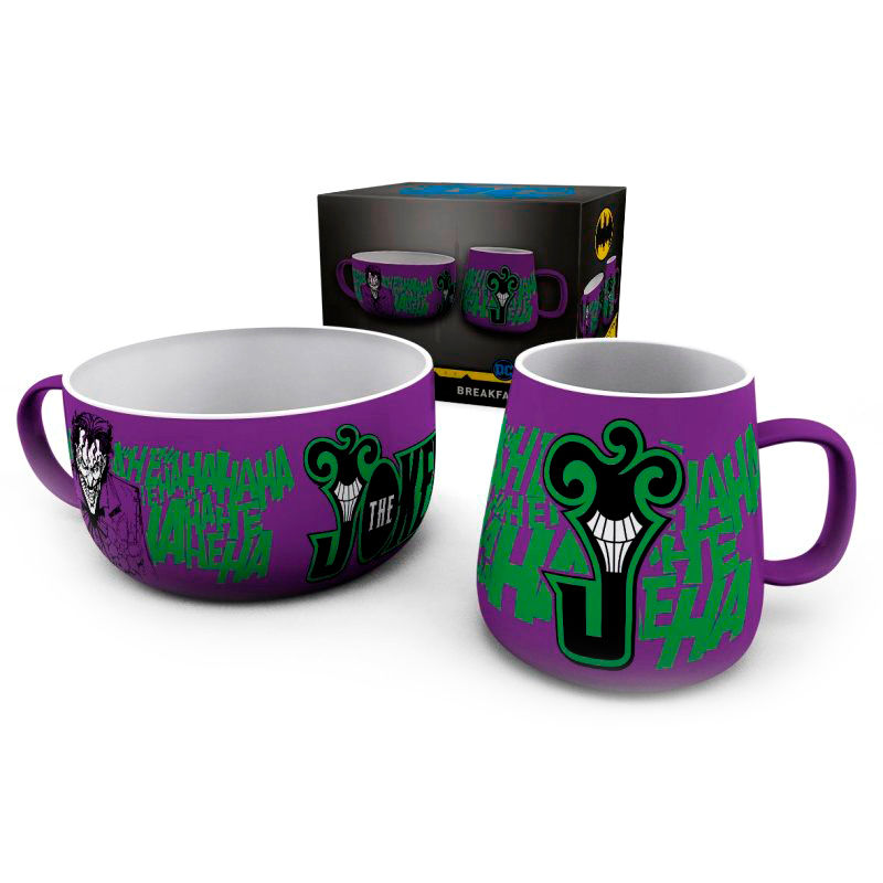 Set desayuno The Joker DC Comics 5028486415755