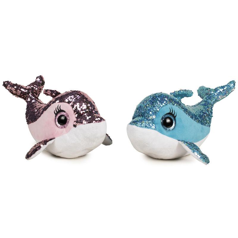Peluche Delfin lentejuelas surtido 36cm 8425611378768